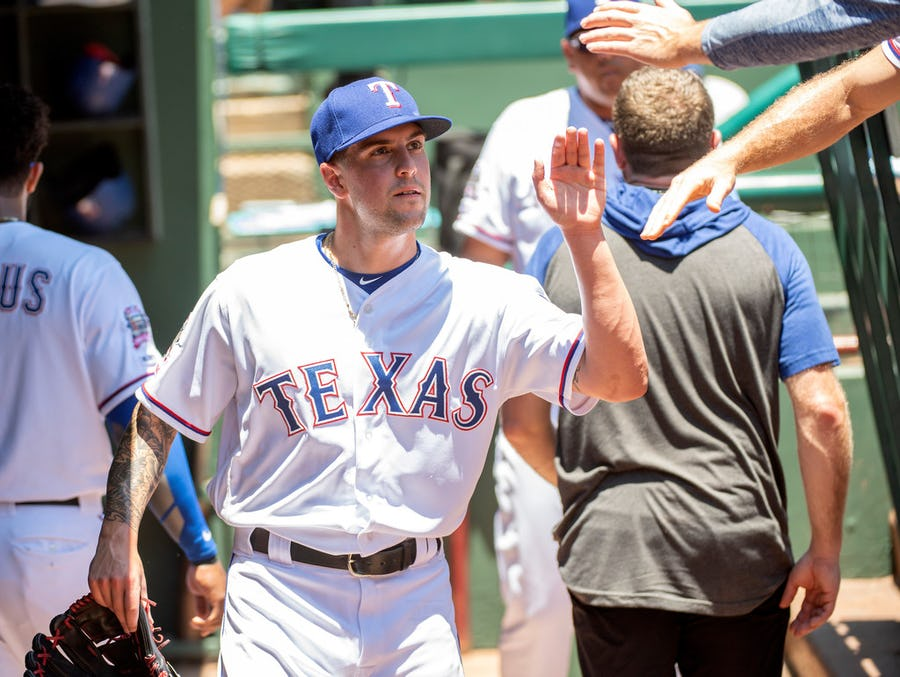Rangers to give Joe Palumbo an 'extended look' in rotation, but what does that really mean for the post-Tommy John pitcher? | SportsDay