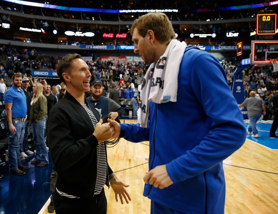 Mavs legend Dirk Nowitzki wishes he had done more to keep Steve Nash in Dallas: 'That is for sure a regret' | SportsDay