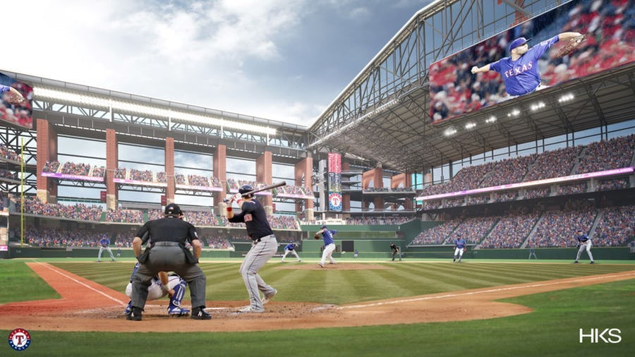 How the crowd being closer to the action at Globe Life Field could be an advantage for the Rangers in the future | SportsDay