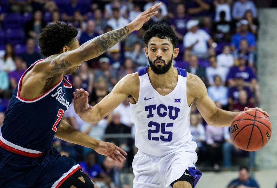Report: TCU, ex-Mansfield Timberview guard Alex Robinson headed to Summer League with Sacramento Kings | SportsDay