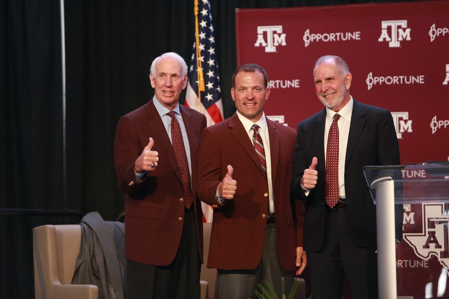 R.C. Slocum balanced his son's medical ordeal, being interim AD 'beautifully.' Here's what's next for Texas A&M's 'treasure' | SportsDay