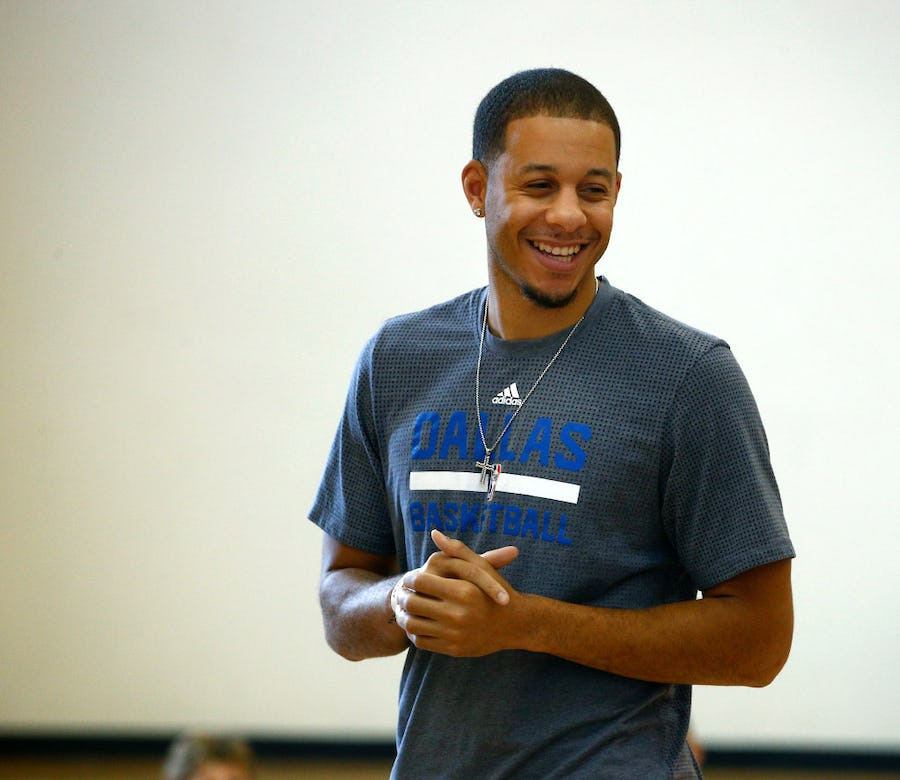 10 things to know about Mavs' Seth Curry: 'Swaggy Swag,' making history on the court with his brother | SportsDay