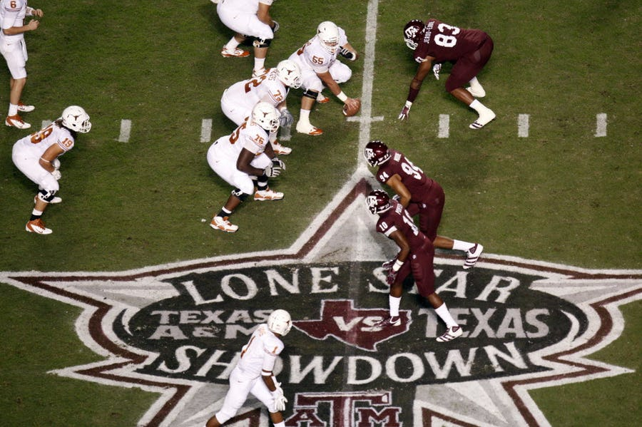 'It's completely stupid not to play': Dallas-area football coaches are unanimous about Texas and Texas A&M's rivalry | SportsDay