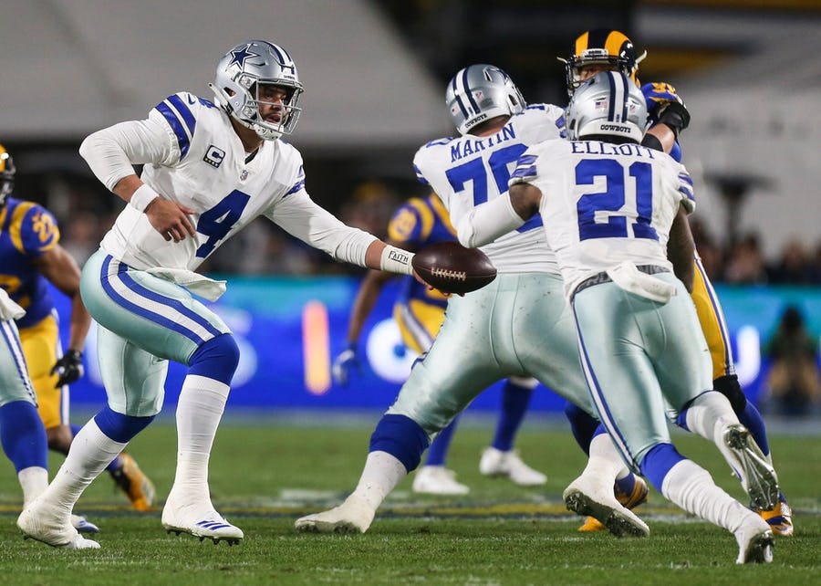How Dak Prescott, Ezekiel Elliott and Amari Cooper can be compared to a camera tripod | SportsDay