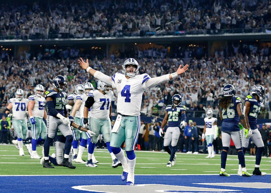 Dak Prescott believes everyone can 'get theirs' as the salary cap continues to rise; still steps to go in QB's contract talks | SportsDay
