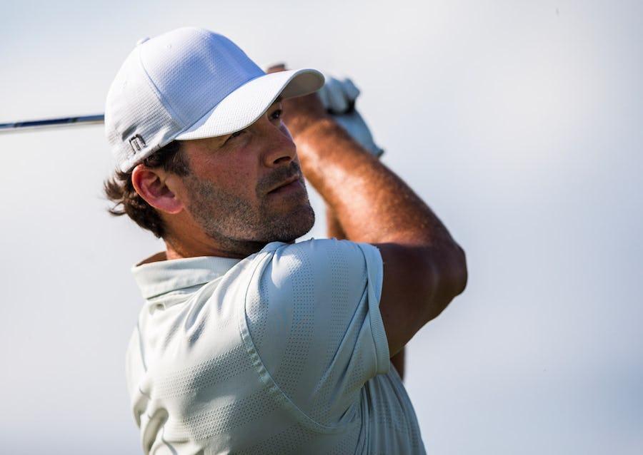 Tweet, tweet! Tony Romo holds lead at American Century Championship celebrity golf tournament | SportsDay