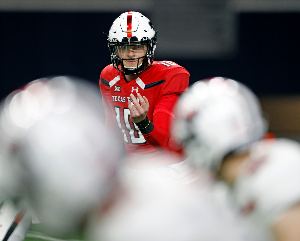 Texas Tech quarterback Alan Bowman 'completely cleared, healthy' ahead of camp | SportsDay