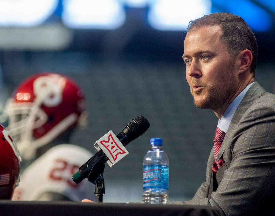Oklahoma's Lincoln Riley explains why you can't solely use numbers to judge Big 12 defenses | SportsDay