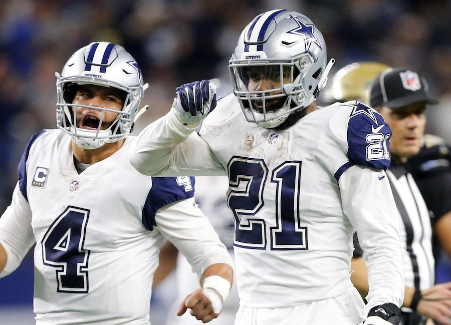 With questions surrounding Ezekiel Elliott, would skipping camp motivate Cowboys to pay up? | SportsDay
