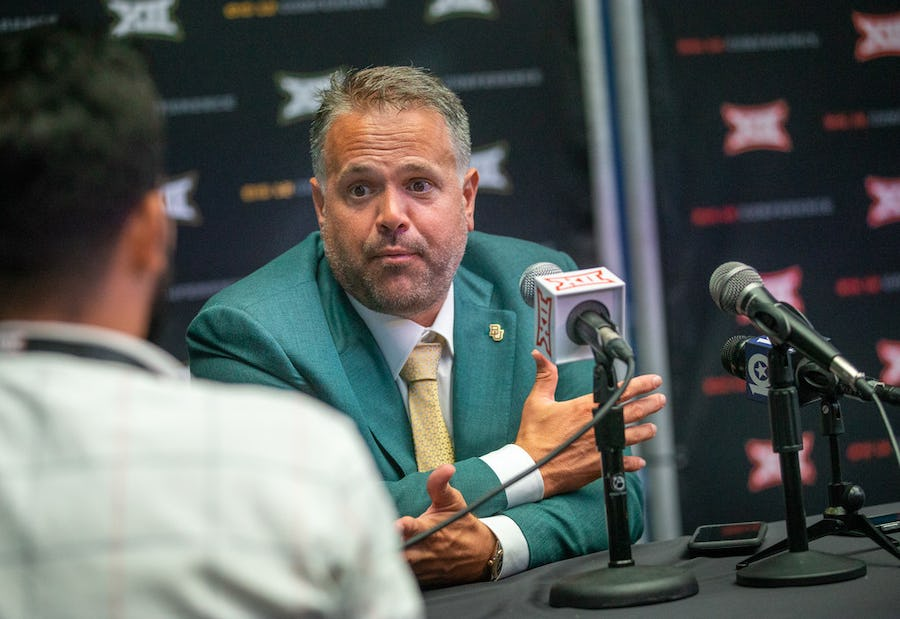 As the Baylor-Texas Tech matchup returns to campuses, Matt Rhule says he'll miss AT&T Stadium | SportsDay