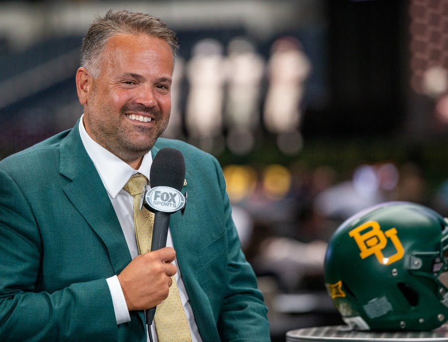 Baylor's Matt Rhule says the key to a strong 2019 is simple: improved offensive line play | SportsDay
