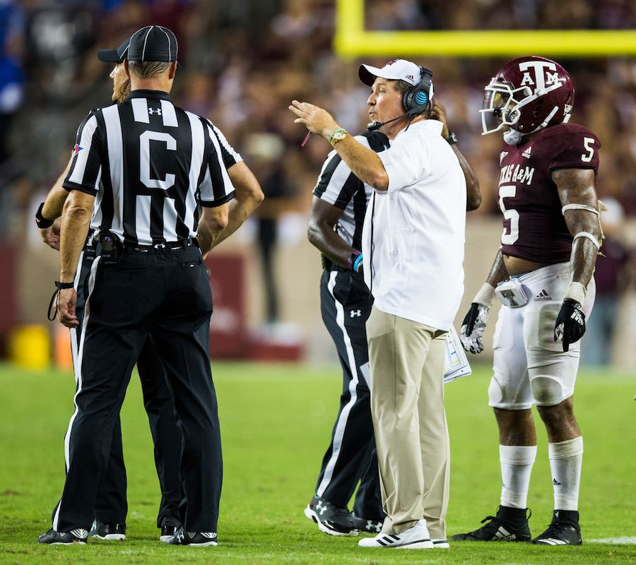 Will Texas A&M be playing spoiler this season? Not according to Jimbo Fisher: We expect to 'compete' | SportsDay