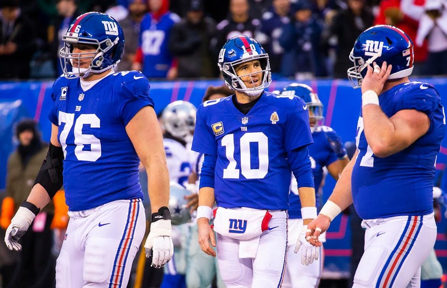 Cowboys enemy report: Eli Manning is the starting QB in New York ... for now and why a regression is unlikely for the Giants | SportsDay