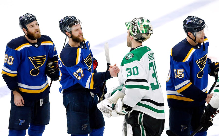 How Stars goalie Ben Bishop can use his hometown St. Louis Blues winning the 2019 Stanley Cup as 'fuel' | SportsDay