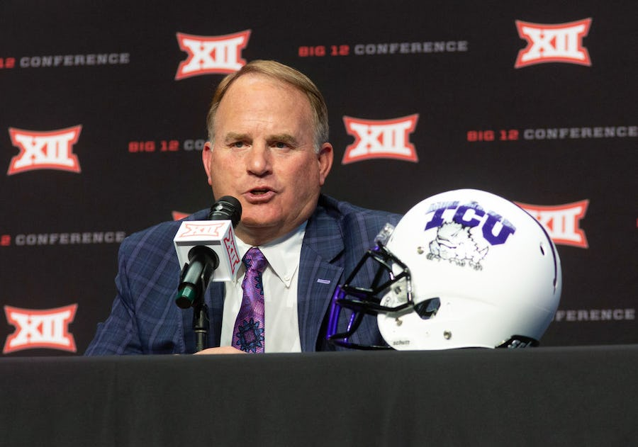 Big 12 Media Days takeaways, and the dangers of underestimating TCU's Gary Patterson | SportsDay