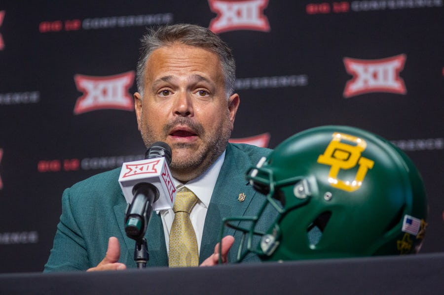 In a short amount of time, Matt Rhule has changed the culture at Baylor, but he hasn't ignored the lessons from the past | SportsDay