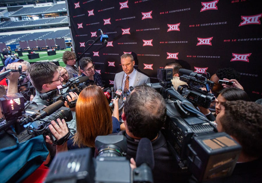 2019 college football coaches poll: Texas edges Texas A&M for final spot in top 10; Oklahoma is Big 12's top-ranked team | SportsDay