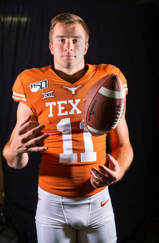 From Being Shook To Tim Tebow Comparisons How Sam Ehlinger Became The Face Of Texas Return To National Prominence