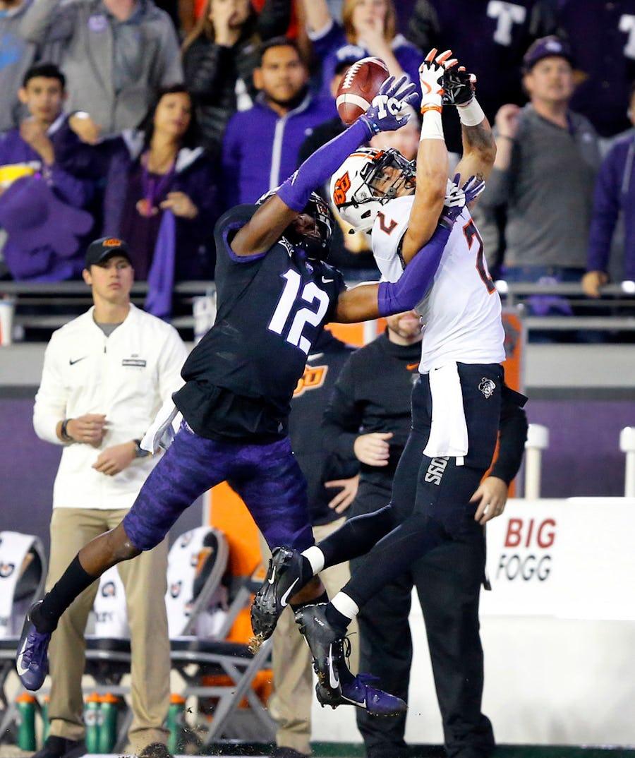 TCU CB Jeff Gladney, North Texas QB Mason Fine listed among Pro Football Focus' 'top sleepers' for 2020 NFL draft | SportsDay