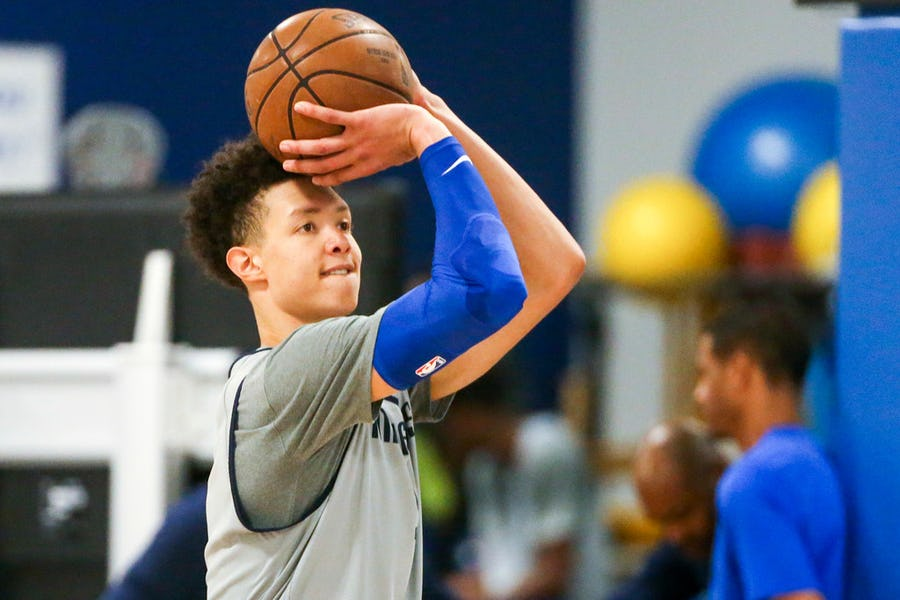 Mavs player profile: How will second-rounder Isaiah Roby follow the precedent set by Jalen Brunson? | SportsDay