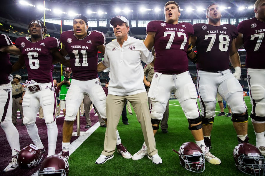 Twitter has become an invaluable tool for college football coaches, but not Texas A&M's Jimbo Fisher | SportsDay