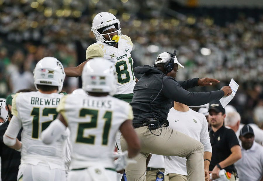 5 key storylines for Baylor in 2019: Who will step up as the Bears' No. 2 receiver? | SportsDay