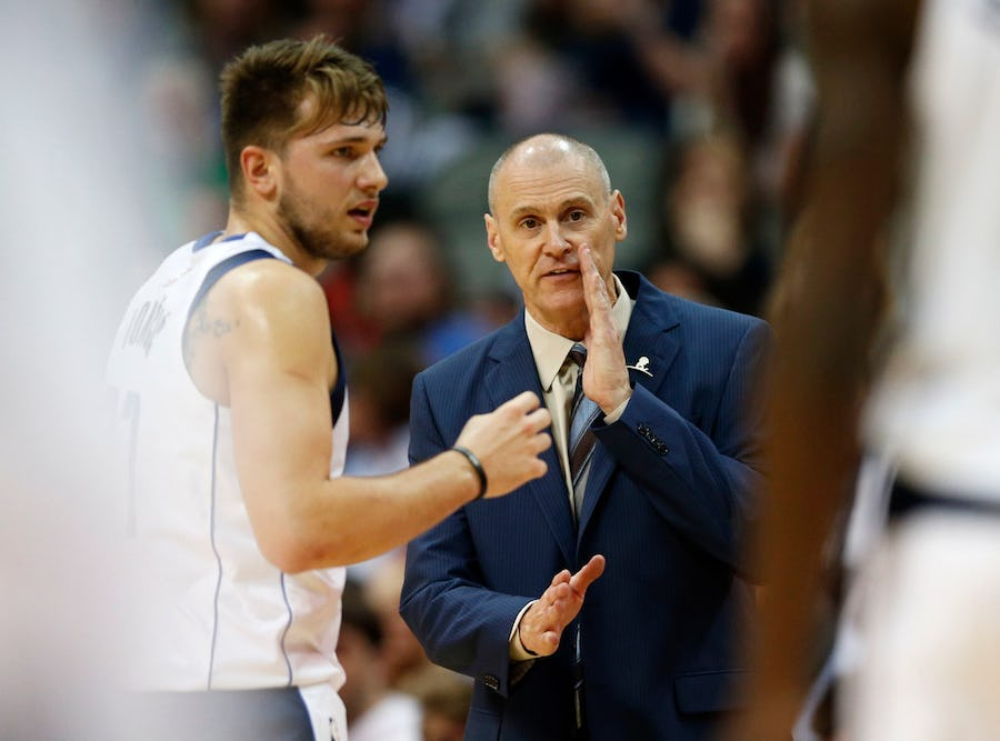 Rick Carlisle: Luka Doncic is 'working his butt off' as Mavericks expect even more focus on him in Year 2 | SportsDay