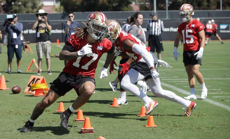 Watch: Ex-Baylor star Jalen Hurd muscles in a touchdown in 49ers preseason opener vs. Cowboys | SportsDay