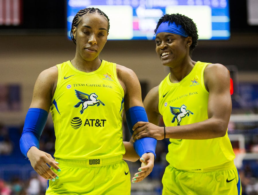 WNBA suspends Wings' Kayla Thornton, Kristine Anigwe 2 games for altercation with Phoenix's Brittney Griner   SportsDay