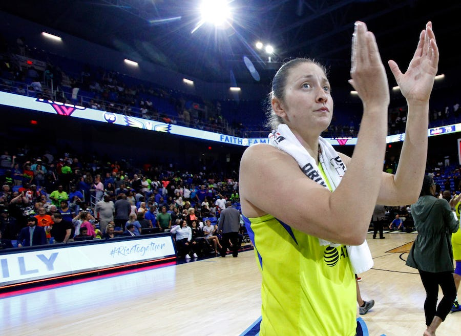 'It hit me really hard': Nearly a week after being traded from the Wings, Theresa Plaisance bids emotional farewell to fans   SportsDay