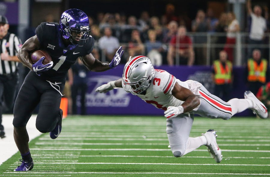 TCU's Jalen Reagor is good, but is he the best wide receiver in the Big 12? | SportsDay
