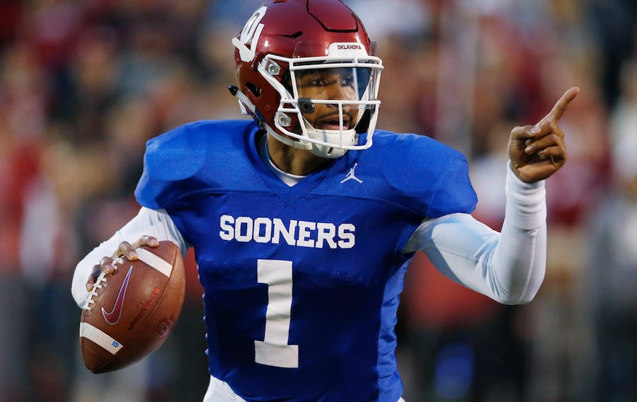 Jalen Hurts named Oklahoma's starting quarterback | SportsDay