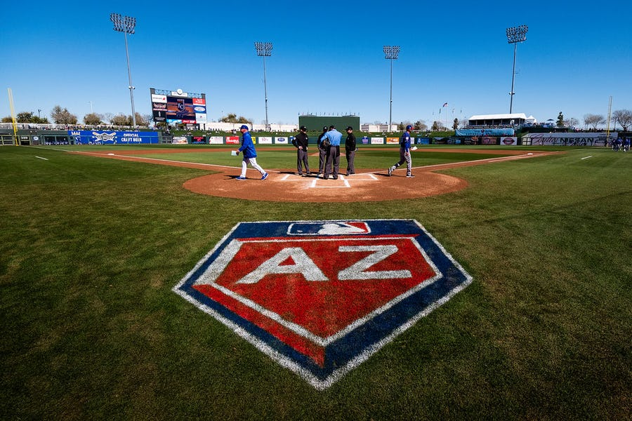 Rangers open Arizona spring training schedule Feb. 22 against Milwaukee | SportsDay