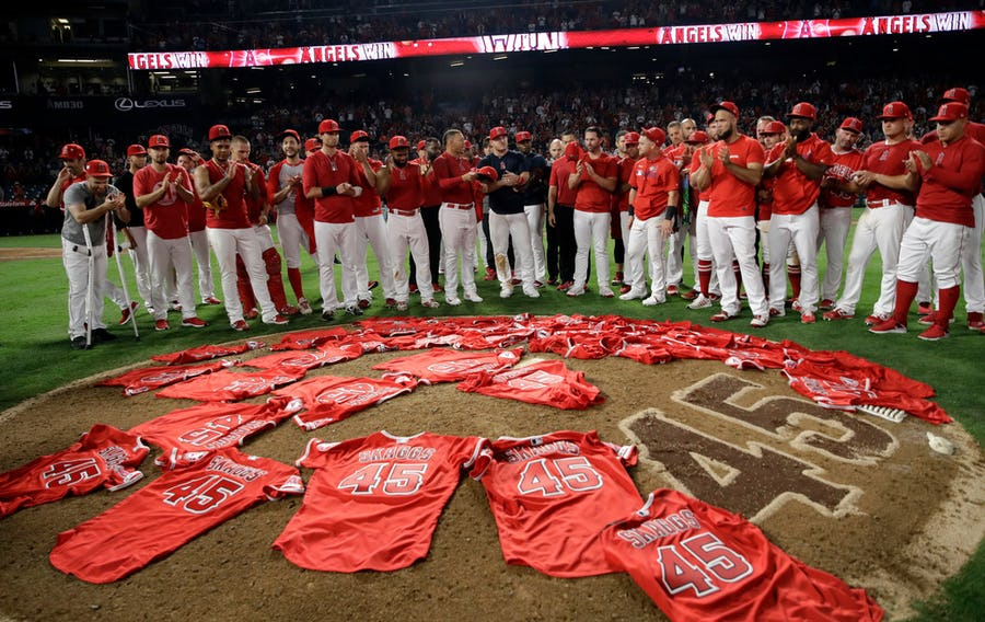 The Angels return to Arlington for first time since the shocking death of pitcher Tyler Skaggs | SportsDay