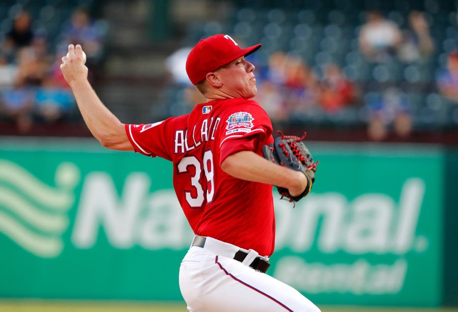Why the Rangers may have too many left-handers vying for spots in their 2020 starting rotation | SportsDay