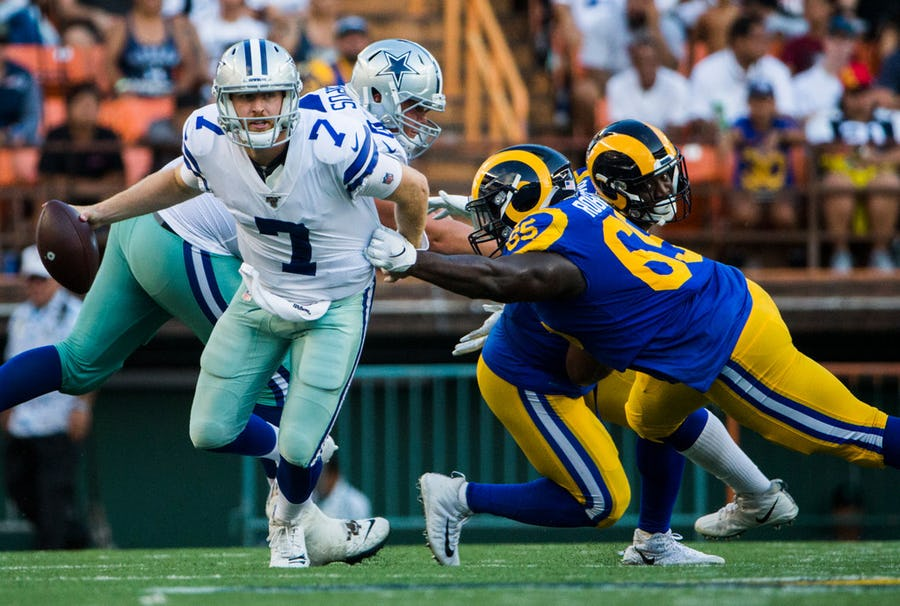 Cowboys musings: Why Taco Charlton's roster spot appears to be safe; has Cooper Rush secured the backup QB spot?   SportsDay