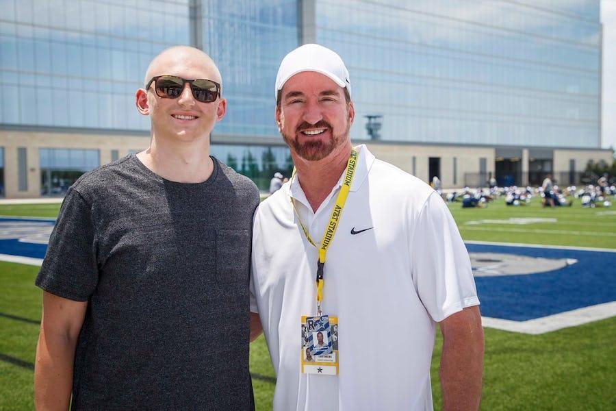 Former Texas A&M walk-on Luke Laufenberg, son of ex-Cowboys QB Babe Laufenberg, dies after losing battle to cancer | SportsDay