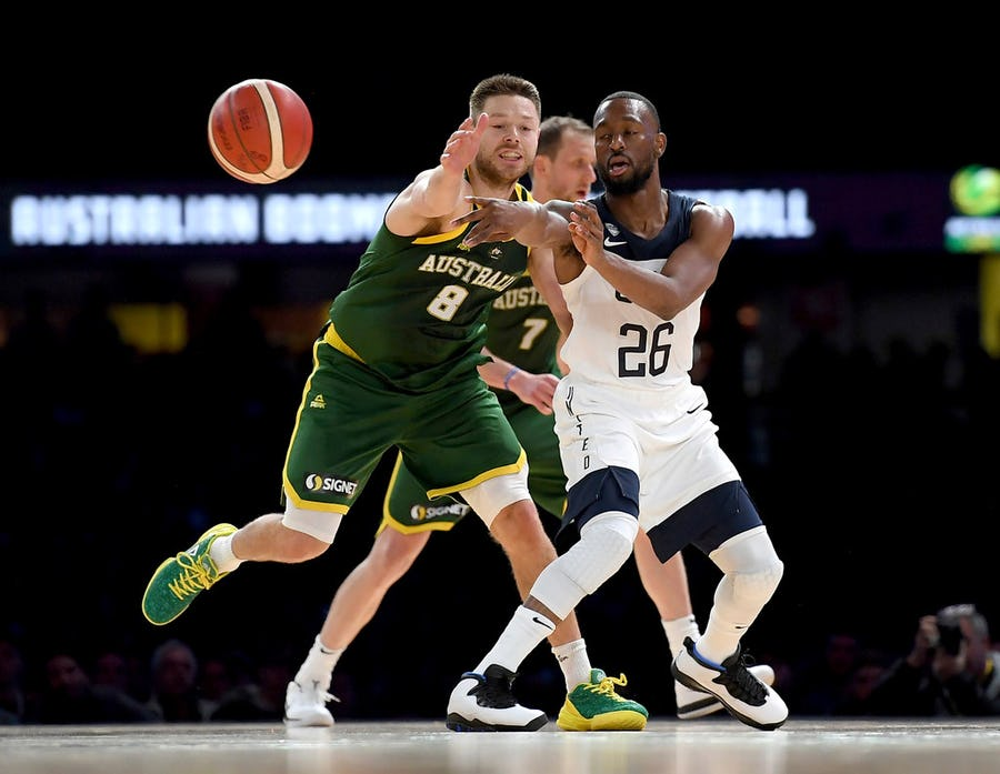Kemba Walker, Myles Turner lead US over Australia 102-86 | SportsDay