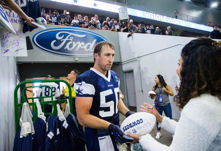 Cowboys LB Sean Lee 'feels great,' hopes to play in preseason game vs. Texans | SportsDay