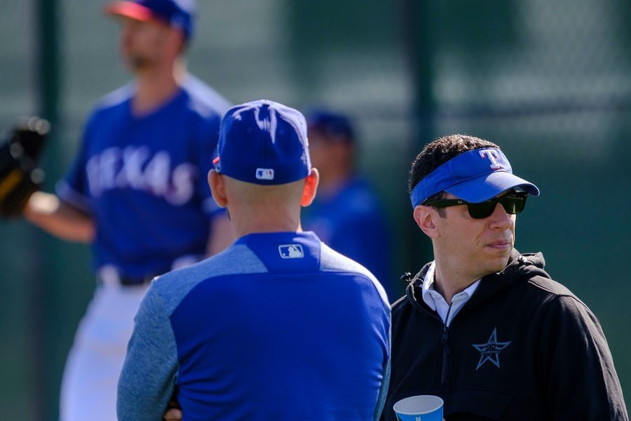 Why the Rangers restructured the role of player development director Matt Blood | SportsDay