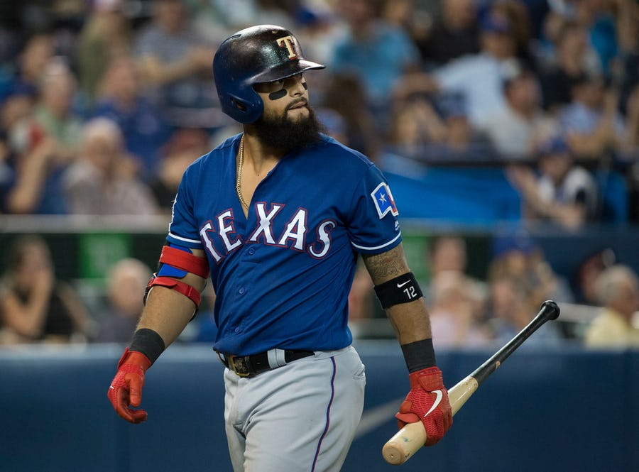Different approach, same results. The walls are closing in on Rangers' struggling 2B Rougned Odor. | SportsDay