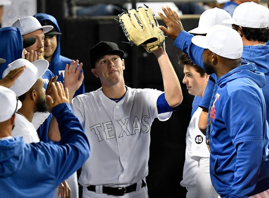 Trouble with the curve? Nope. Rangers' rookie Kolby Allard dazzles in his latest audition. | SportsDay