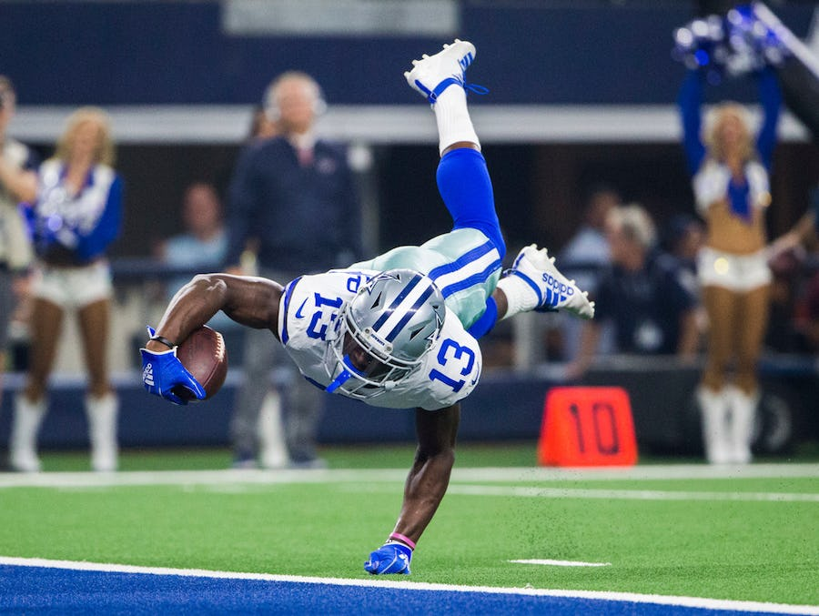 WR Michael Gallup shares why Tony Pollard is an 'obvious' choice for Cowboy on offense with best camp performance   SportsDay