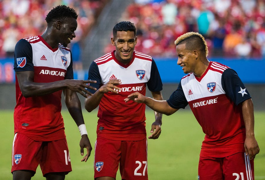 In a must-win game, FC Dallas came up with a crucial 3 points against Houston to put them back in the playoff picture | SportsDay