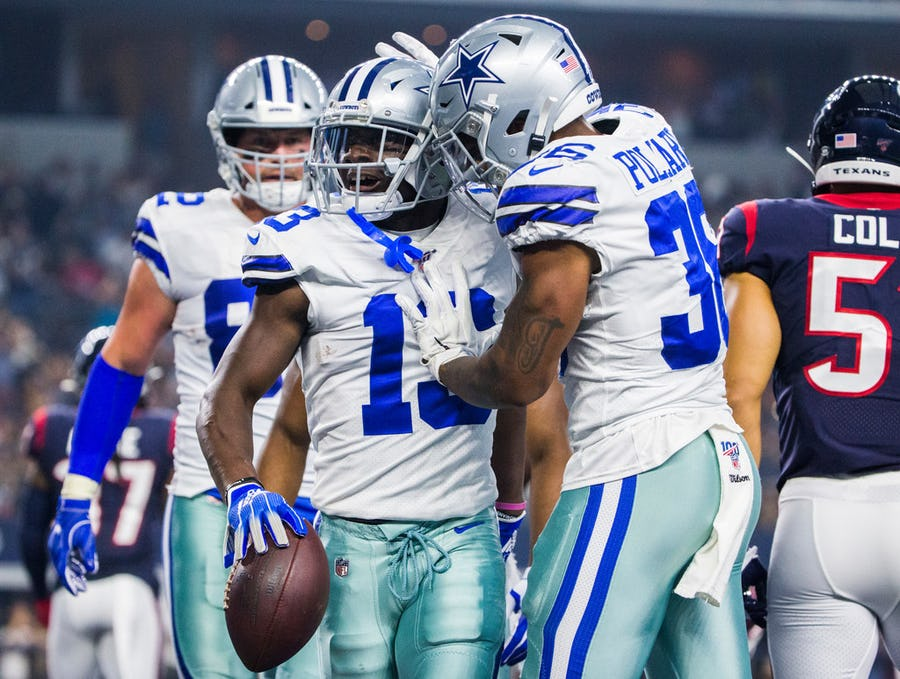 Cowboys roster projection 2.0: Taco Charlton earns a spot on the 53, veteran RB gets cut and Dallas keeps 6 WRs   SportsDay