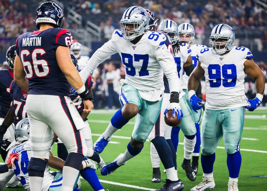 Taco Charlton has everything going in the right direction, latest from Jerry Jones on contract talks and more — Your Cowboys Catch-Up   SportsDay