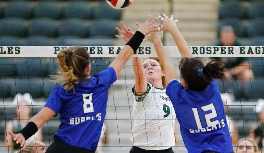 Volleyball: Byron Nelson, Guyer are tournament co-champs; Flower Mound, Lake Ridge claim championships | SportsDay
