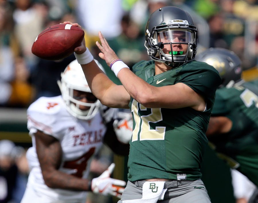 Matt Rhule shares how Charlie Brewer is handling higher expectations; says Baylor is the 'healthiest' it has been | SportsDay