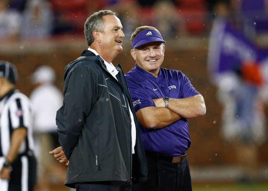 For the brand: SMU's Sonny Dykes sees TCU as a blueprint for winning support of local community | SportsDay