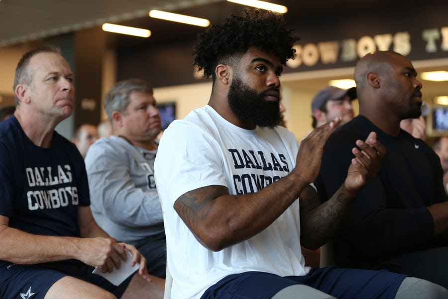 Prior to holdout, Ezekiel Elliott said he wanted to be 'a Cowboy for the rest of my life'   SportsDay